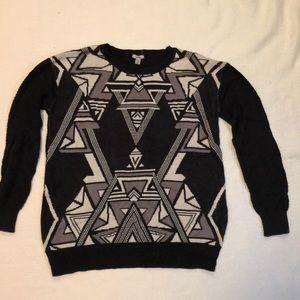 Funky pattern sweater